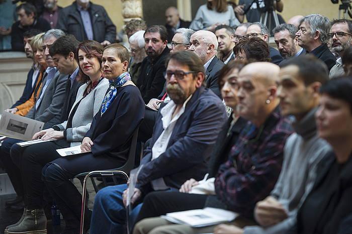 2017ko otsailean motibazio politikoko biktimei omenaldia egin zien Nafarroako Gobernuak
