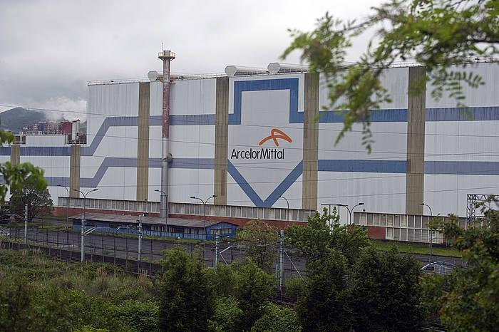 Etxebarriko Arcelor Mittal enpresa. ©Luis Jauregialtzo, Foku