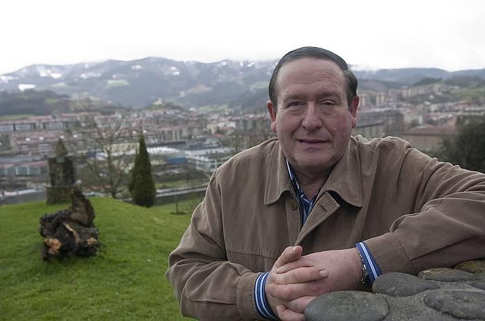 Iñaki Garmendia 'Laja' trikitilaria, 2009ko argazki batean. ©Andoni Canellada / Foku