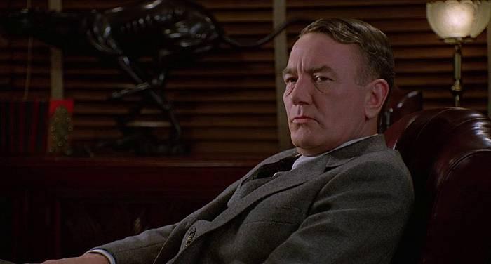 Albert Finney, 'Miller's Crossing' (1990) filmeko eszena batean. ©Berria