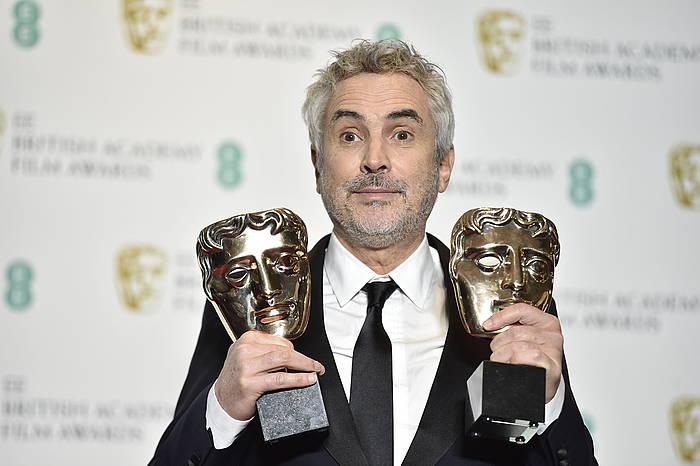 Alfonso Cuaronek zuzendaririk onenaren Bafta saria jaso du, bigarrenez.