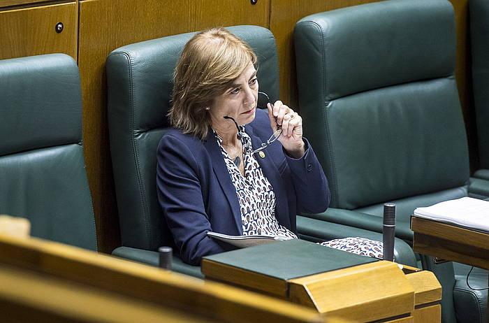 Cristina Uriarte Hezkunza sailburua