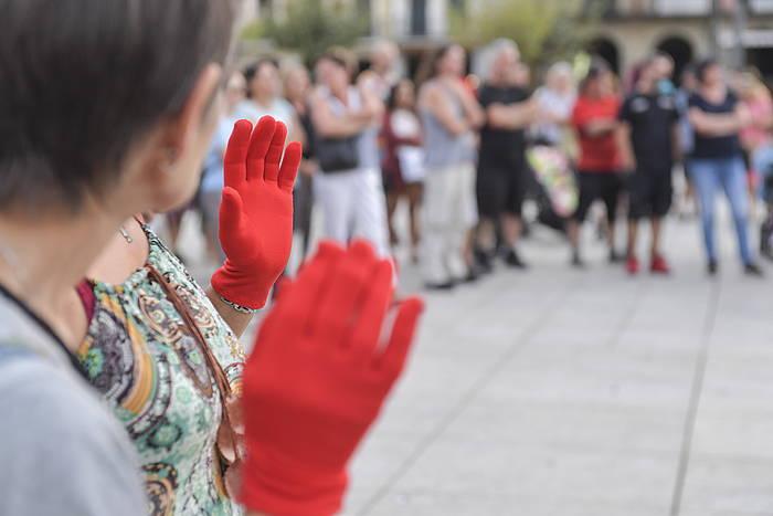 Indakeria matxistaren aurkako protesta bat ©/ Idoia Zabaleta (Foku)