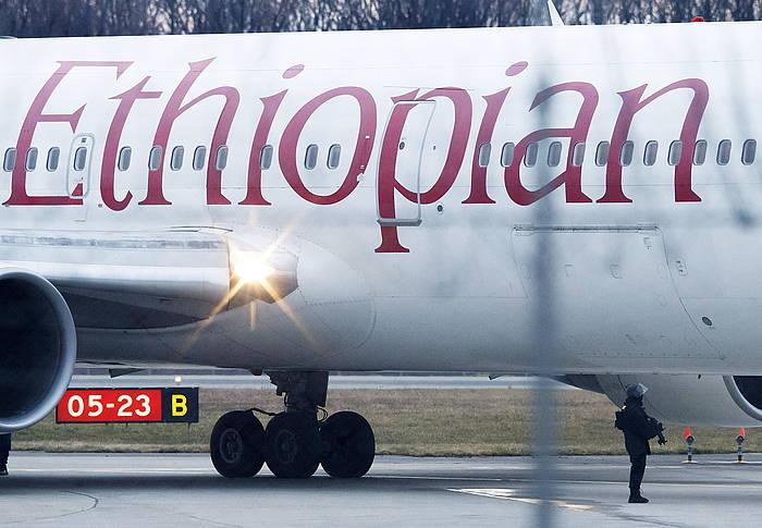 Ethiopian Airlines konpainiako hegazkin bat, artxiboko argazki batean. / ©Salvatore di Nolfi, EFE
