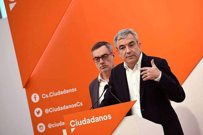Luis Garicano, Ciudadanoseko arlo ekonomikoko arduraduna, otsailean ©Víctor Lerena / Efe