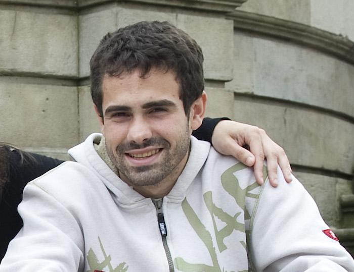 Xabier Sagardoi, artxiboko irudi batean.