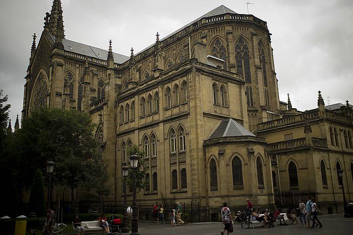 Donostiako Artzai Onaren katedrala bere izenean jarri du Eliza Katolikoak, orubea barne, hipotekaren legea baliatuta.