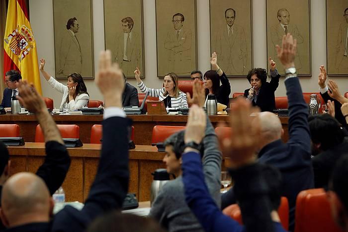 Espainiako Kongresuko Diputazio Iraunkorraren eztabaida, gaur. ©Juan Carlos Hidalgo, EFE
