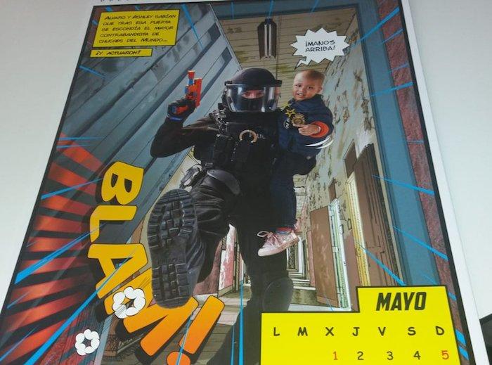 Espainiako Poliziaren egutegiko irudi bat ©