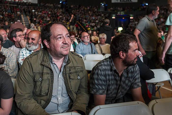 Pernando Barrena, iazko maiatzean, Bilboko ekitaldi batean. ©Aritz Loiola/Foku