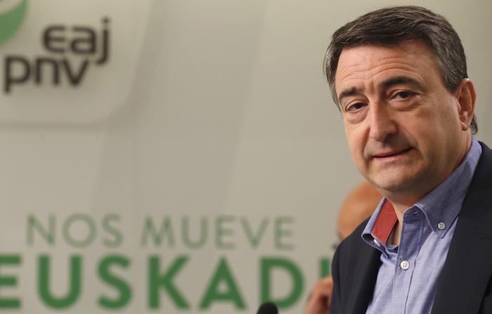 Aito Esteban Espainiako Kongresurako EAJren Bizkaiko zerrendaburua, artxiboko irudi batean. ©Luis Tejido, EFE