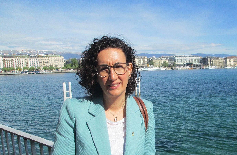 Marta Rovira, Genevan. /