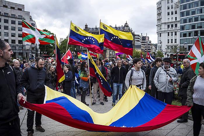 Bilboko manifestazioa ©Aritz Loiola / FOKU
