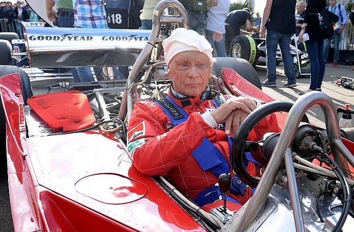 Niki Lauda, 2014ko argazki batean.
