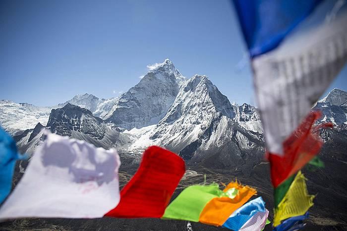 Everest mendia. /