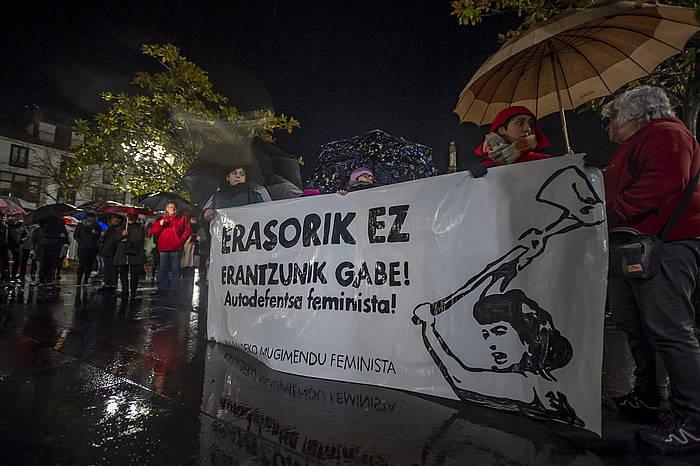 Sexu erasoen aurkako protesta bat ©/ Jaizki Fontaneda (Foku)