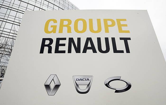 Renaulteko egoitza nagusia, Boulogne-Billancourt hirian.