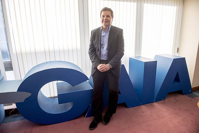 Tomas Iriondo, Gaia telekomunikazioen klusterreko zuzendaria.