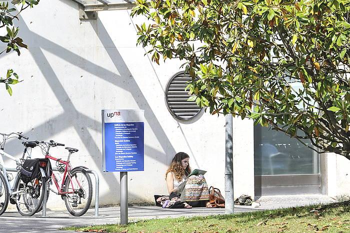 Nafarroako Unibertsitate Pubikoa, artxiboko irudi batean. ©Idoia Zabaleta, Foku