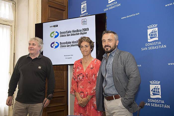 Julian Eraso, Leire Olaberria eta Martin Ibabe. ©Juan Carlos Ruiz / Foku