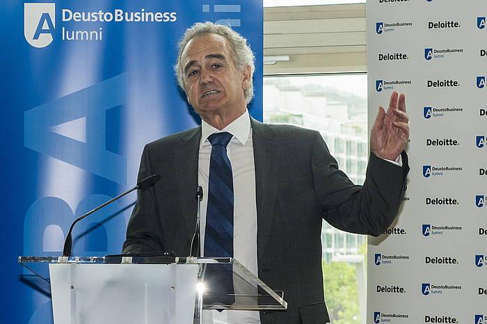 Anton Pradera Cie Automotiveko presidentea, maiatzean, Bilbon. ©Monika del Valle / Foku