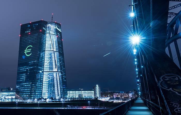 Europako Banku Zentralaren eraikina, Frankfurten. / ©BORIS ROESSLER