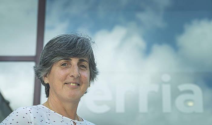 Beatriz Zabalondo, BERRIA Taldeko lehendakaria. /