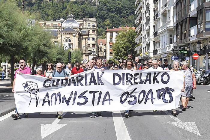 AEMk Donostian egindako manifestazio bat, irailean.