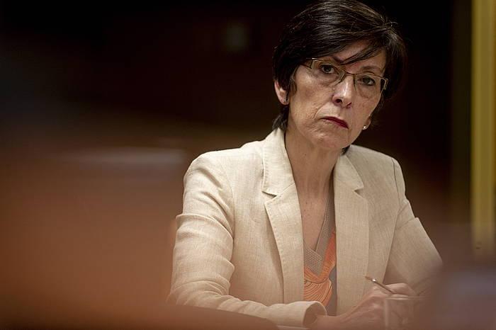 Estefania Beltran de Heredia, Eusko Jaurlaritzako Segurtasun sailburua