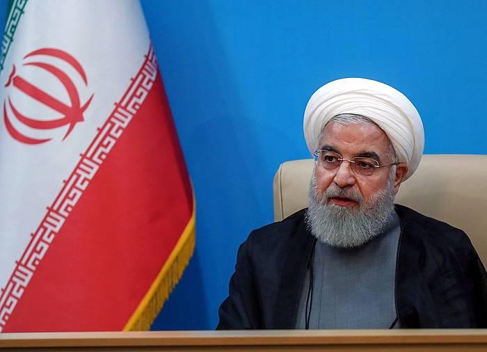 Hassan Rohani Irango presidentea. ©Oficina Presidencial, EFE