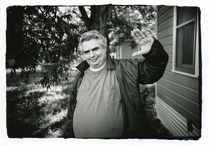 Daniel Johnston, artxiboko irudi batean.