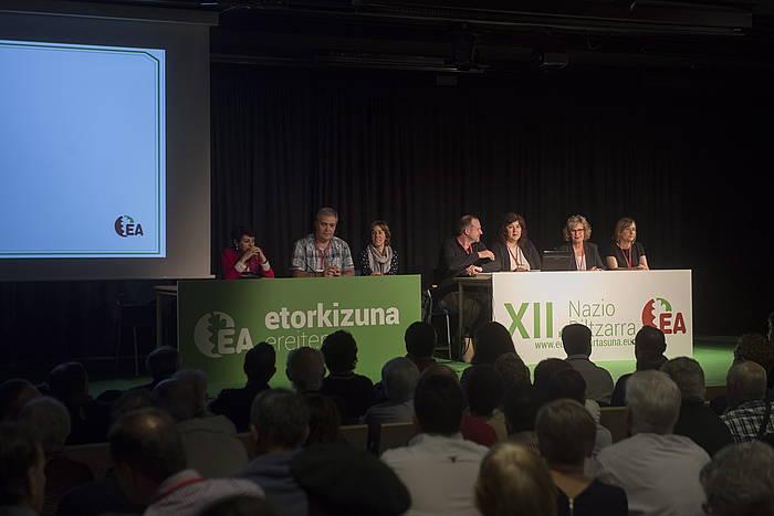 Eusko Alkartsunaren XII. kongresua, 2017ko ekainean.