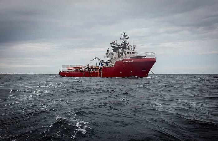 'Ocean Viking' ontzia, artxiboko irudi batean. ©EFE