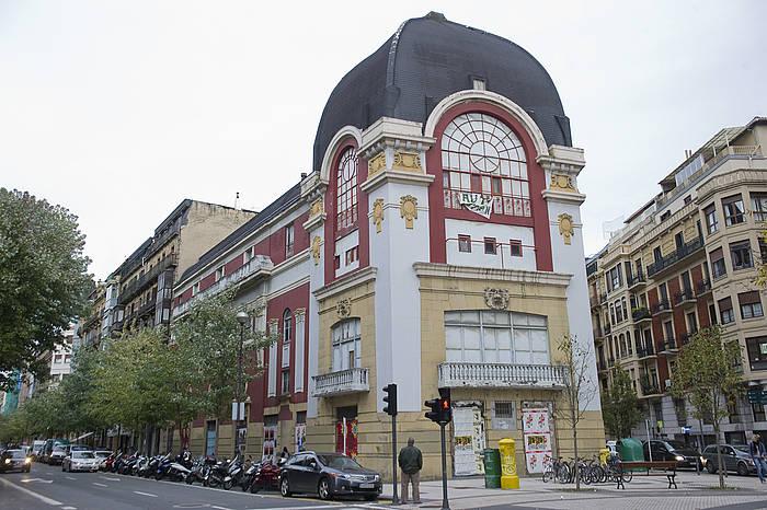 Donostiako Arte Ederrak eraikina, artxiboko irudi batean.