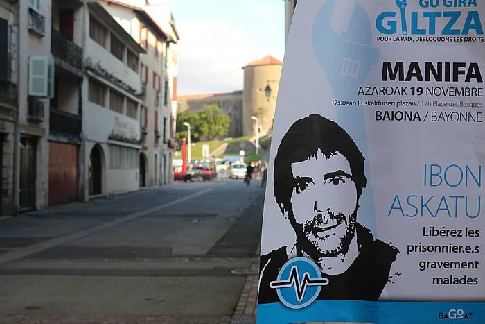 Ibon Fernandez Iradi aske uzteko mobilizazio baten deialdia /
