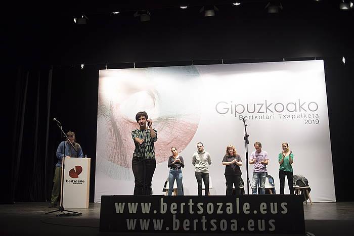 Gipuzkoako Bertsolari Txapelketako final-laurdena.