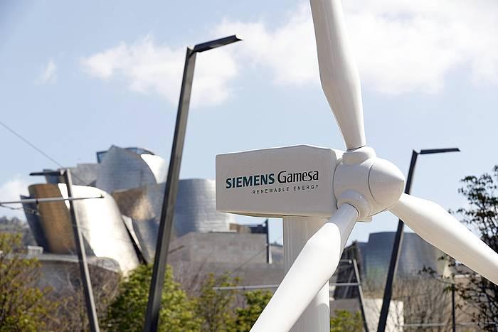 Siemens Gamesaren haize errota bat.