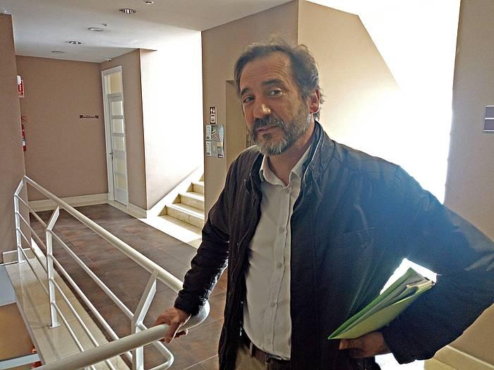 Iñigo Urrutia, Eusko Legebiltzarrean, 2015ean.