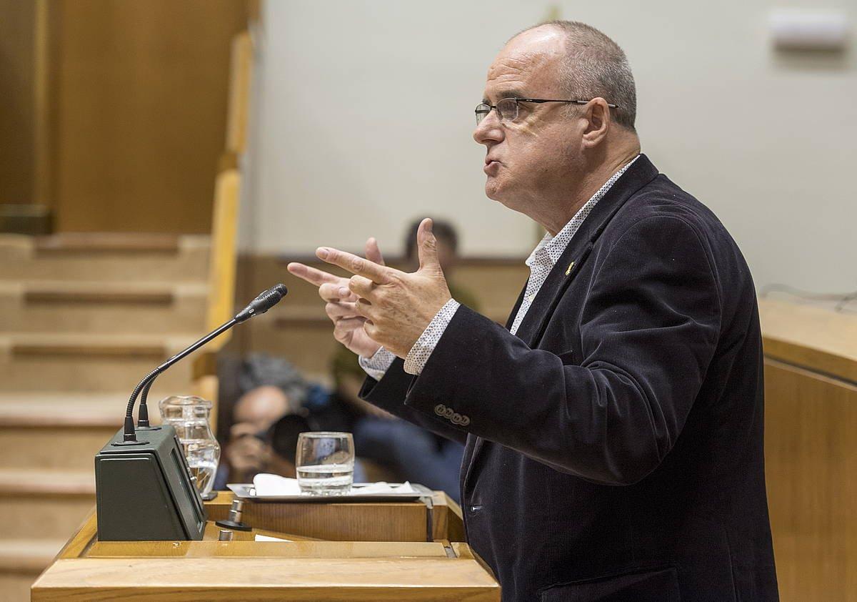 Joseba Egibar, EAJko bozeramailea. ©Juanan Ruiz / Foku