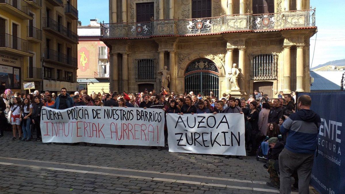 EH Bilduk Madrilgo Kongresuan galdetuko du Iruñean zaurituriko 14 urteko neskaren inguruan