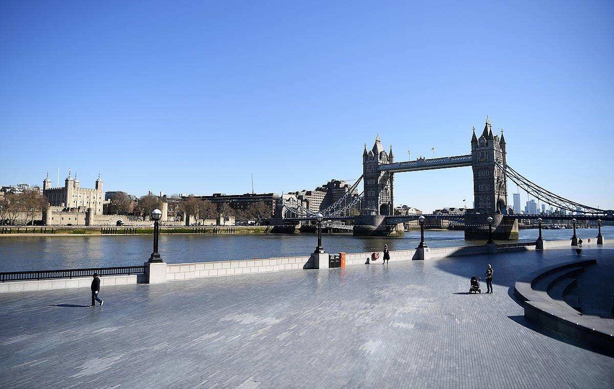 Tower Bridge zubia, gaur goizean. ©ANDY RAIN / EFE