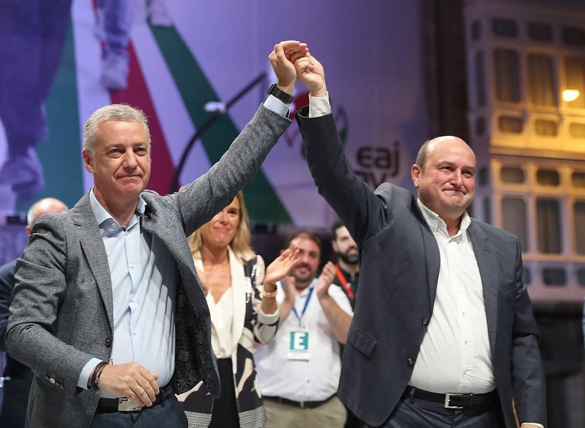Ortuzar: «EAJk argi eta garbi irabazi du»