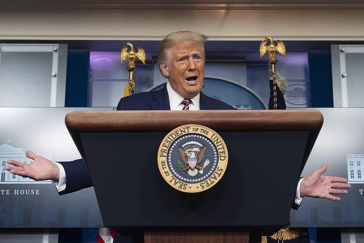 Trumpek 645 euro ordaindu zuen zergetan 2016an eta 2017an, 'The New York Times'-en arabera