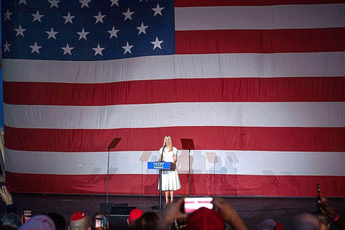 Ivanka Trump, Miamin. / ©Giorgio Viera, EFE
