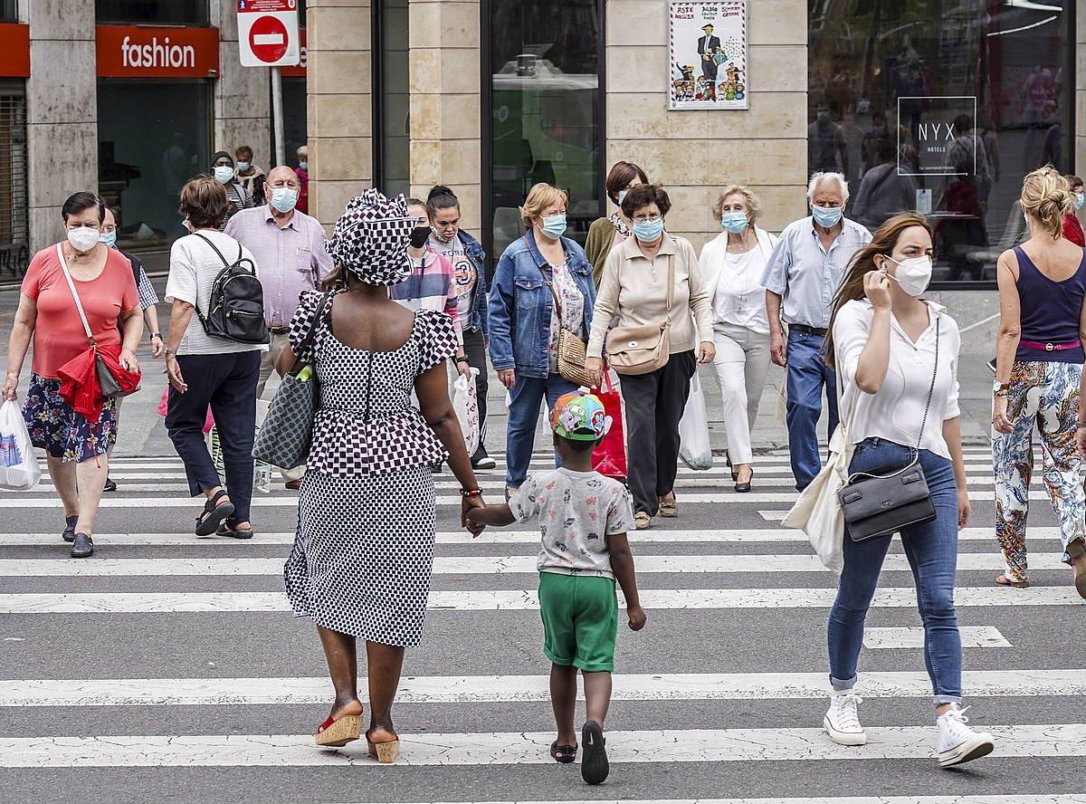 %42,5 herritarrek egingo lukete euskal estatu baten alde erreferendum adostu batean. ©Marisol Ramirez / Foku