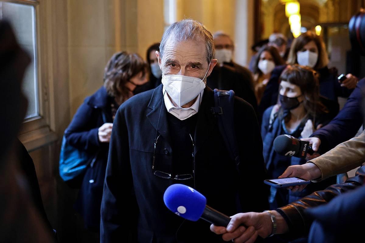 Josu Urrutikoetxea, aurtengo otsailaren 22an, Parisen, Dei Auzitegian. ©Yoan Valat / EFE