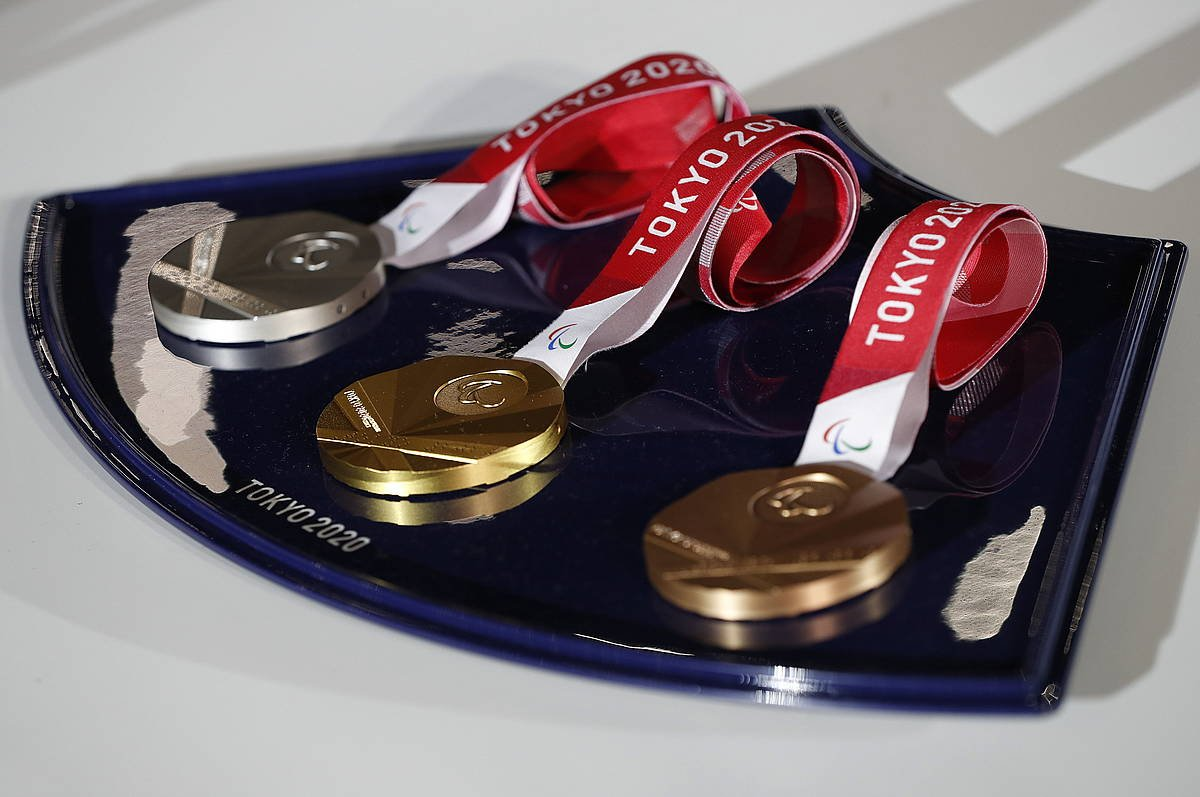 Olinpiar jokoetako medaila batzuk. ©JUAN IGNACIO RONCORONI/EFE