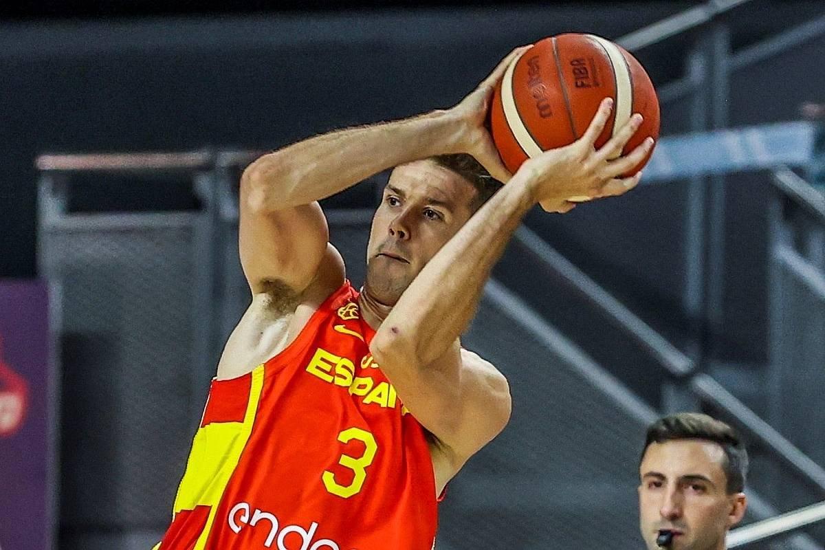Xabier Lopez-Arostegi Olinpiar Jokoak prestatzeko lehia batean. ©Juanjo Martin / EFE