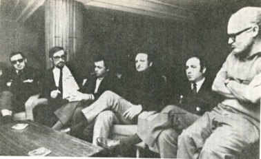 Castells, Etxebarrieta, Navascues, Ruiz Cedeño, Bandres eta Ruiz Balerdi abokatuak, 1970ean.