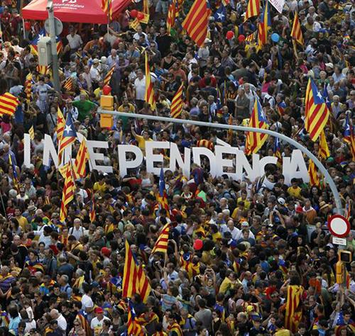 Katalunia, estatu propioaren alde